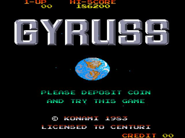 Gyruss reverse engineering
