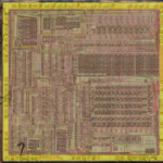 VLM5030 die, highlighted pad ring